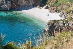 Sicilia - Playa de Zingaros, Italia