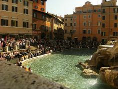 trevi fountain side view by Insider Rome, via Flickr