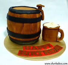 Image result for how to do a beer barrel cake