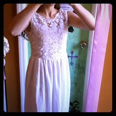 *Donating Soon* Reposh White Lace Dress!