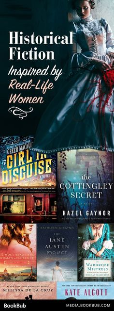 7 historical fiction books inspired by real-life women. These would make great reads for women.