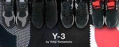 Y sta per Yamamoto, 3 rappresenta il logo di Adidas. Nell'ottobre del 2002 è nata questa bizzarra collaborazione che segnò l'inizio dell'incontro tra il mondo della moda e lo sport. Yohij Yamamoto rappresenta il design mentre Adidas si rivolgere agli sportivi, insieme stanno creando una linea di scarpe, borse, abbigliamento e accessori dando un nuovo futuro allo sportwear sia da uomo che da donna.  La collaborazione tra il rivoluzionario designer  e Adidas ha dato vita ad una categoria…