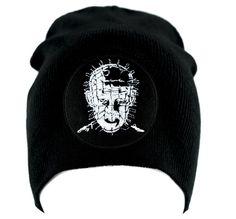 5532fe2410e Pinhead Hellraiser Beanie Knit Cap Occult Horror Clothing Victorian Gothic