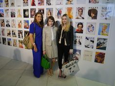 With the lovely @Coco's Tea Party at this year's #VogueFestival