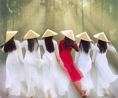 Traditional Vietnamese dresses