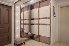 Modern Closet Doors Cabinets 58 Ideas For 2019 Wardrobe Room, Wardrobe Design Bedroom, Luxury Bedroom Design, Bedroom Furniture Design, Home Room Design, Office Furniture, Sliding Door Wardrobe Designs, Closet Designs, Wadrobe Design
