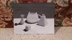 CCC homework in acrylic by Hannah Hatheway