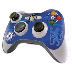 Chelsea FC Xbox Games Controller Skin Chelsea FC XBox 360 Controller Skin UV light resistant, Anti-fade, Anti-smudge Waterproof, No Residue When Removed Fits Xbox 360 Controller 100% Official Licensed Product £5.99