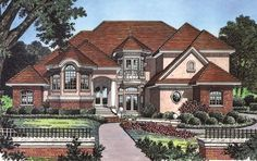 Grand Award Winner - 6338HD | Southern, Traditional, Luxury, Photo Gallery, Premium Collection, 1st Floor Master Suite, Butler Walk-in Pantry, CAD Available, Den-Office-Library-Study, Jack & Jill Bath, Loft, MBR Sitting Area, Multi Stairs to 2nd Floor, PDF, Corner Lot | Architectural Designs