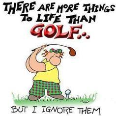 Love of golf :) #golf #golfhumor                                                                                                                                                                                 More #GolfHumour