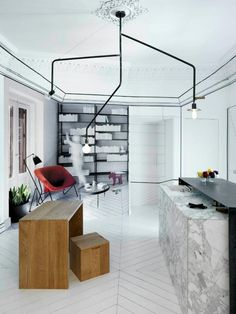 How to Fit a Whole Apartment in Just 16sqm. Cocina con sentido(s) by Paula Rosales from More-Co.