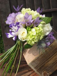 May Flowers are Blooming lavender, white and green bouquet – Floral Artistry By Alison Bucholz-Ellis