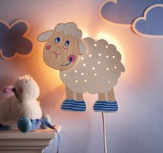 gorgeous 37 Relaxing Kids Lighting Design Ideas From Urban Outfitters Ramadan Decoration, Wood Crafts, Diy And Crafts, Kids Lamps, Kids Lighting, Lighting Design, Wooden Lamp, Cool House Designs, Baby Room Decor
