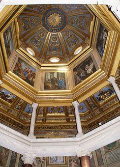 Rom, Baptisterium San Giovanni in Fonte, achteckige Kuppel (Baptistery San Giovanni in Fonte, octagonal dome)