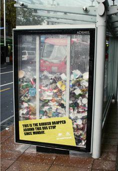 Bus Stop Rubbish