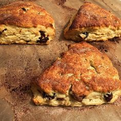 cuisinedemememoniq:  Scones à l'orange et aux canneberges #scone...