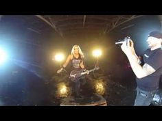 Nita Strauss: Pandemonium - 360 behind the scenes for the new amazing video   360 degree behind-the-scenes view of the music video shoot for PANDEMONIUM!! See and hear exactly what it was like if you were standing in the middle of the room during the filming. Move your phone or click and drag to look around!! Shot with a Theta 360 cam- watch in HD for best quality! Nita Strauss- guitar Josh Villalta- drums Cameras- Brian Cox and Corey Soria Real video produced by Flarelight Films LLC- If you…