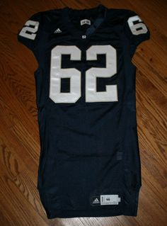 Notre Dame Fighting Irish Football Game Jersey #62 Adidas size 46 Authentic #adidas #NotreDame