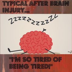 """People think we're """"lazy"""" because we Need to sleep.  That's when our brain does The Most Healing!"""