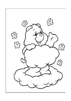 De Troetelbeertjes Kleurplaten voor kinderen. Kleurplaat en afdrukken tekenen nº 5