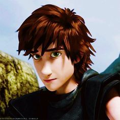 Hiccup is SO Hot in black. I would say that he is even cuter in black :3