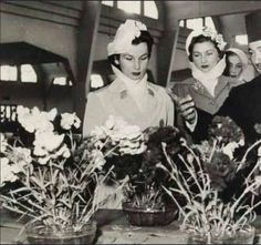 TRHs Princess Fawzia and Faika at Some Function in Egypt.flickr