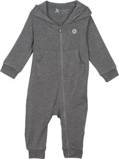 Baby Sunsuit Romper Long Sleeve UPF 50+ UV Protection - Bear Necessity
