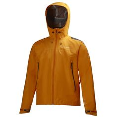 ODIN GUIDING LIGHT JACKET -   Our professional guide partners asked us for a simple, light, yet durable shell jacket, and this is our answer. A new generation of Helly Tech® 3-ply construction with a minimal seam design concept