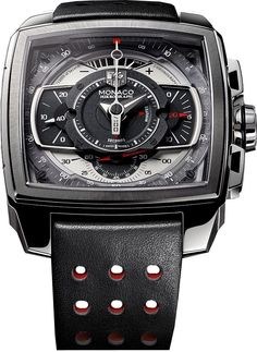 TAG Heuer have launched this very special Monaco Mikrograph at the 2011 Monaco Formula 1 Grand Prix. The watch is a one-off creation that will be auctioned at the Only Watch Charity auction in Monaco in September. Tag Heuer Monaco, Amazing Watches, Beautiful Watches, Cool Watches, Unique Watches, Dream Watches, Fine Watches, Tag Watches, Stylish Watches