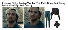 """Imagine Pietro Seeing You For The First Time, And Being Memorized By Your Beauty."" by alyssaclair-winchester ❤ liked on Polyvore featuring Crea Concept, Balmain, Breckelle's, imagine, Avengers, marvel, quicksilver and pietromaximoff"