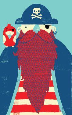 Old Captain Redbeard-GRAPHICS