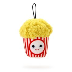 Food Plushies, Yummy World, Food Pillows, Cute Squishies, Kettle Corn, Cute Stuffed Animals, All Things Cute, First They Came, Your Favorite