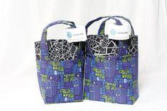TARDIS  Handy Bags by DaydreamersEmporium on Etsy