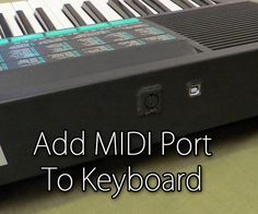 Add MIDI port to Keyboard