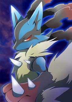 DREAM TEAM: Lucario is the first member of my dream team. My first pokemon game was Diamond, so Lucario has been a long lasting favorite of mine since my first pokemon game.