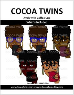The Original Avah by Cocoa Twins Cocoa Tan, Twin Delivery, File Format, Image Collection, Black Girl Magic, Digital Image, Coffee Cups, Twins, Layers