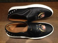 Slip-on by @Givenchy #Rottweiler #slipon #sneakers #Givenchy #men #FolliFollie #FW14collection