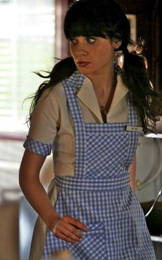 Zooey Deschanel as Dorothy (DG) in the SciFi channel's The Wizard of Oz spin-off 'Tin Man' Costume Designer: Angus Strathie Zooey Deschanel Style, Emily Deschanel, Scifi Channel, Fiction Film, Male Cosplay, Tin Man, Judy Garland, Movie Costumes, Wizard Of Oz