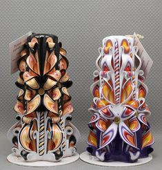 Beautiful candles Carved candles Сandles Gift by NeedHave Fancy Candles, Best Candles, Diy Candles, Carved Candles, Decorative Candles, Candle Art, Candle Molds, Candle Accessories, Homemade Candles