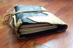 Handmade Leather Traveler's Notebook / Midori Style /