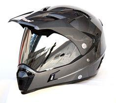 Masei ATV Motocross Full Face 311 Chrome Dirtbike KTM & Yamaha & Arai & ICON Helmet