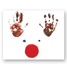 handprint christmas cards - Google Search