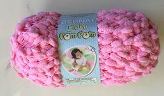 Bernat Baby PomPom Yarn Candy Floss Pink  22200 ~ 3.5 oz Skeins / Baby PomPom Yarn by dcoyshouseofyarn on Etsy