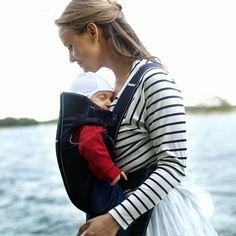 Porte bébé original classic bleu foncé Babybjorn