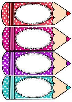Resultado de imagen para distintivos escolares de lapiz