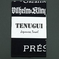 #KazuiPress所有の金属活字を清刷しそれを元に江戸本染め注染の日本手拭いですhttp://bit.ly/1OoCgN5
