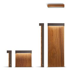 Look wood by Simes: minimalistic, compact and efficient lighting element