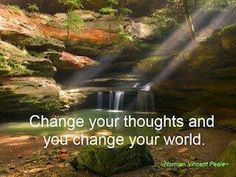 Ur thoughts become ur life