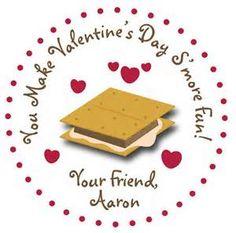 You Make Valentine's Day S'more Fun!