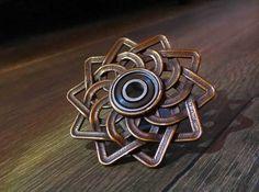 Celtic Lotus - Fidget Hand Spinner 3d printed